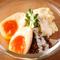 燻製半熟卵のポテトサラダ