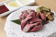 塊だからこそ堪能できる、しっかりとした肉の強さと上品な甘さ『極上塊焼き』