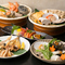 旬魚を焼き、蒸し、煮、揚げ、刺身など、さまざまな調理法で堪能