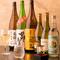 広島の地酒を中心に取り揃え。料理に合う飲み方を提案