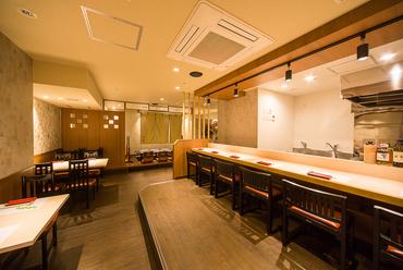 落ち着いた雰囲気の和食割烹料理店です