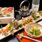 伝統的な懐石料理に蕎麦・寿司を組み込んだオリジナルの懐石料理