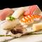 新鮮な天然魚を満喫できる『寿司』