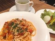 16種類の野菜・スープ・パン3種