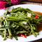 タイ直送の食材で引き出した、タイの魅力が凝縮『空芯菜と生唐辛子のガーリックソース炒め(季節限定)』