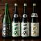 店主自ら吟味を重ね、買い付けをしている豊富な日本酒