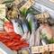 テイクアウトもOK。農園野菜と産直鮮魚コーナーのOTORIYOSE