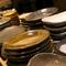 料理を盛り付ける器も愛でられるのが、日本料理の魅力