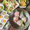 漁港直送の旬魚や静岡から届く野菜と、ペアリングに最適な日本酒