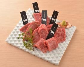 贅沢な味わいを堪能できる『最高級熟成和牛5種盛り合わせ』