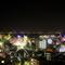 12階からの夜景を眺めるディナータイム