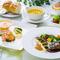 フィレステーキとお魚料理をどちらも楽しめるコース『桔梗』