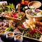 贅と粋を尽くした和の創作料理を囲んで、楽しい饗宴