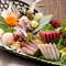 日替わりで旬の魚介類をお届け『鮮魚の盛り合わせ』