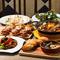 2時間飲み放題付き!『スペイン満喫コース』で地中海料理を堪能