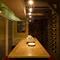 ワインセラーのような完全個室は、まるで大人の秘密基地