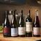 自然派を中心とした自慢のワインは、ペアリングコースで