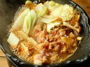 鶏すき焼き 締めの極太うどん 雑炊も楽しみ ♪