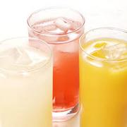 ◆ペプシコーラ ◆ジンジャーエール ◆オレンジジュース ◆グレープフルーツジュース ◆アセロラソーダ ◆カルピスウォーター ◆カルピスソーダ ◆烏龍茶 ◆緑茶 ◆ジャスミン茶