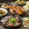 料理長のおすすめをふんだんに盛り込んだコスパ抜群コースです。お魚、お肉、デザートもついてこの値段