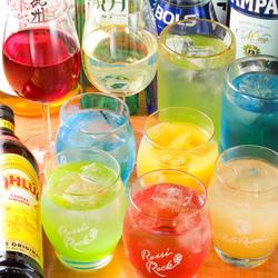 60類以上のドリンクが無制限で飲み放題に!時間に縛られることなく飲んで食べて宴会を楽しんで下さい 。