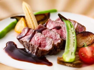 淡路椚座牛のサーロインステーキ