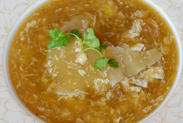【上海蟹黄大排翅】上海蟹味噌フカヒレ姿煮