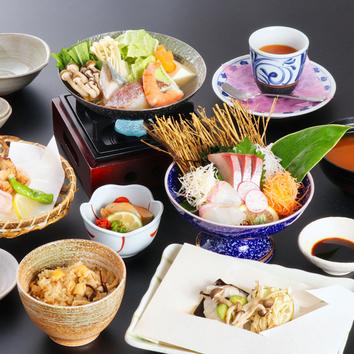 ◆季節の彩りコース(大皿)