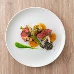 鮮魚のポワレ 蕪のソースとジュ ド プーレ