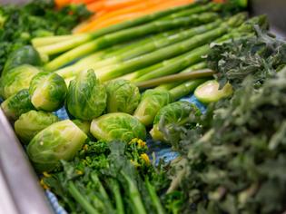 地産地消を大切に、自信を持って上質な野菜を提供