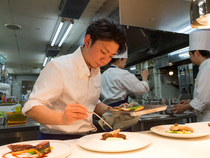 お客さまの貴重な意見を、自身の料理にフィートバックできれば