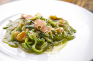 一見スパゲッティ。でも実は野菜を麺状にした『ベジッティ』