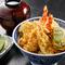 職人技が詰まった厳選素材の天ぷらが楽しめる逸品『天丼 上』