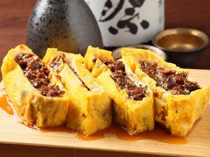【うまき】自家製うなぎのしぐれ煮を、出汁巻き玉子で包んだ絶品の味わい。