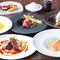 旬食材がたっぷり。華やかさと和みの味が調和する和洋折衷料理