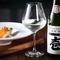 神戸の地酒「壱」をはじめ、和洋折衷の皿に合う日本酒を厳選