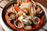 魚貝のマルマーレ パエリア