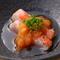 『銚子の金目鯛 焼霜ポン酢』をはじめ、つまみも充実