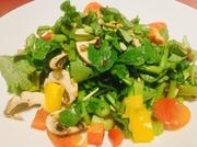 低カロリーでビタミンB2、カリウムを多く含む魅力的な キノコと野菜の王様クレソンのコンビネーションは美容と健康に最適です! お味もさっぱりしていてとっても美味しいです。