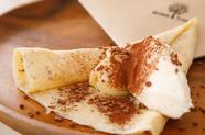 マスカルポーネチーズをたっぷり使用。エスプレッソとココアパウダーで仕上げた本格『ティラミス』