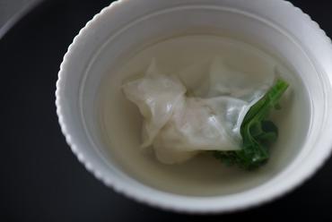 食感と香りを楽しむ『雪菜と布豆富』