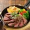 国産牛や地元産の野菜など安心素材のお料理