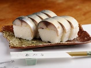 臭みがなく、やさしい酸味が魅力の『特製さば寿司(焼津産)』