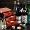種類豊富な幅広いジャンルのお酒を取り揃えている