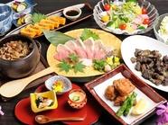 『食事コース』や『極上の酒飲み放題付』『季節の特別料理コース』など、用途に合わせた各種コースご用意
