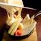 濃厚な味わいのとろとろチーズ『ラクレット』