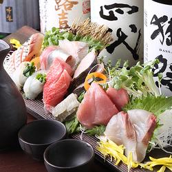 旬の鮮魚を贅沢にお召し上がりください。ワンランク上の宴会に相応しいプランとなっております