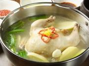 タッカンマリ+チヂミ一品(海鮮チヂミ、桜海老チヂミ、ふわとろもちチヂミ、コーンマヨチヂミ)+〆のカルクッス(韓式うどん)