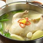 美肌になる韓式鶏水炊き『タッカンマリ』(丸鶏1羽2~3人前)