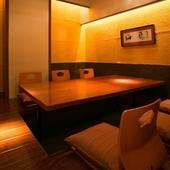【完全個室】会食や接待に最適。3名様~16名様まで
